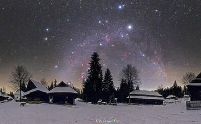 Zábery zo zasneženej Oravy vybrala NASA počas Vianoc za fotografiu dňa