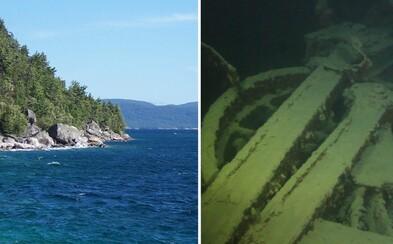 Zabila troch mužov a 106 rokov zostala zabudnutá hlboko pod hladinou Horného jazera. Lokomotíva sa však už na pobrežie nikdy nedostane