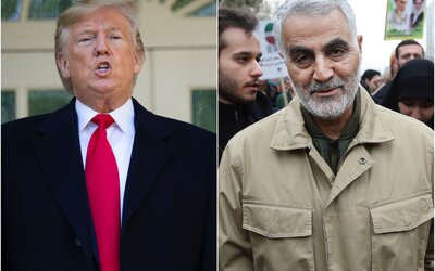 Zabitý íránský generál v roce 2018 vyhrožoval Trumpovi, že pokud válku začne, Írán ji ukončí. Co se děje po raketovém útoku?
