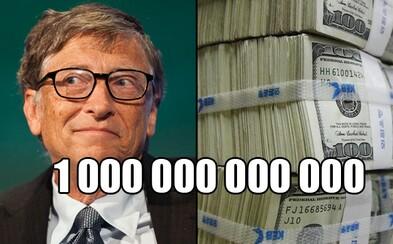 Zabudni na miliardárov, Bill Gates sa raz stane rovno bilionárom. Pri súčasnom raste majetkov najbohatších ľudí to dlho nepotrvá