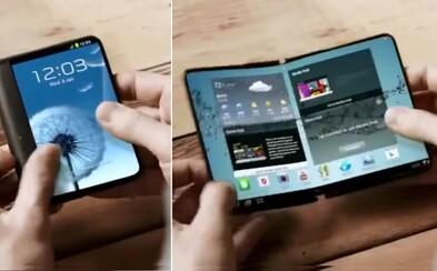 Zabudnite na bežné smartfóny. Samsung oznámil, že chce už budúci rok vyrukovať so skladacími kúskami
