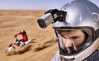Zabudnite na GoPro. Akčná kamera od LG dokáže váš pohľad streamovať priamo na YouTube