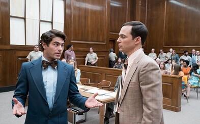 Zac Efron stvárni krvilačného sériového vraha Teda Bundyho. Vo filme si zahrá aj hviezda Teórie veľkého tresku Jim Parsons
