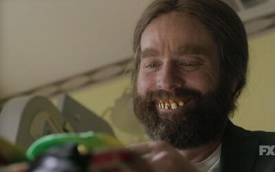 Zach Galifianakis bude v novom seriáli neskutočne vtipný, no zdeprimovaný klaun