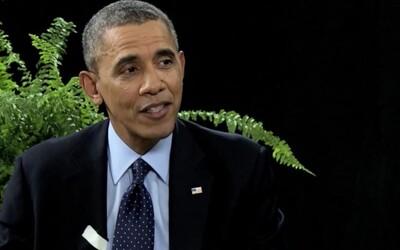 Zach Galifianakis na rozhovore s Barackom Obamom!