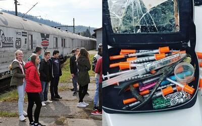 """Zachraňuje """"feťákov"""". Slovensko začína proti drogám a alkoholu medzi mladými bojovať vlakom"""