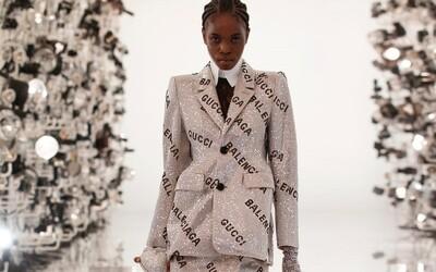 Začína sa nová éra módnych spoluprác? Sleduj premiéru Gucci x Balenciaga