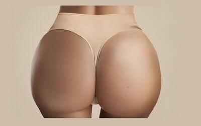 Zadok Kim Kardashian môžeš preskúmať v skutočnej veľkosti. Vďaka detailnému priblíženiu vidno aj chĺpky a póry
