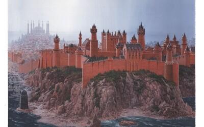 Záhadné miesta z Game of Thrones namaľované podľa predstáv autora Georga Martina