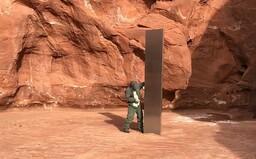 Záhadný monolit leží v poušti v Utahu již od roku 2016