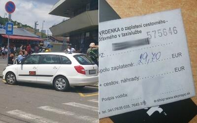 Zahrali sme sa na turistu a skúsili bratislavské taxíky. Pás nefunkčný, taxameter schovaný a za štvrťhodinu jazdy sme platili astronomické sumy