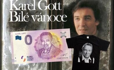 Zájem o zboží s Gottem stoupl o 9952 procent. Lidé kupují CD, knihy, trika, svíčky i bankovky za tisíce korun