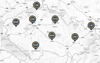 Zajímá tě, kolik trestných činů se stalo ve tvé obci? Policie zveřejnila mapu kriminality