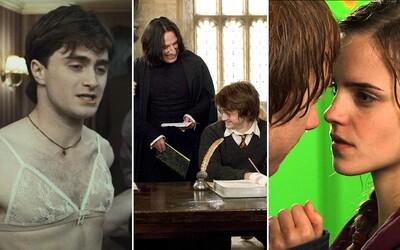 Zajímavosti, tajemství a vtipné příhody z filmového světa Harryho Pottera, o kterých jste (možná) nevěděli