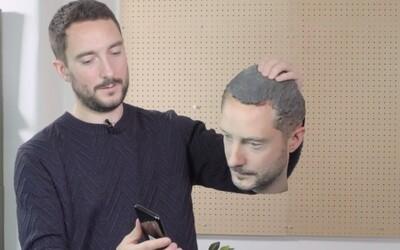 Zajímavý experiment přelstil Android telefony díky 3D kopii obličeje. iPhone X při pokusu o odemčení obstál