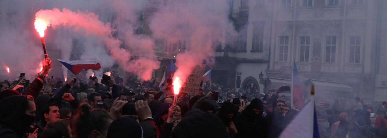 Zákaz pobytu na území Prahy, podmínky a pokuty. Toto jsou tresty pro demonstranty ze Staroměstského náměstí