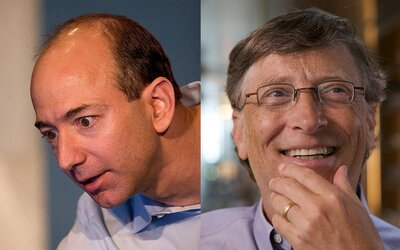 Zakladatel Amazonu Jeff Bezos byl nejbohatším člověkem na světě pouze jeden den. Znovu ho předehnal Bill Gates