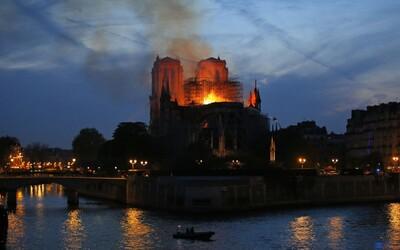 Základy katedrály Notre Dame se podařilo zachránit