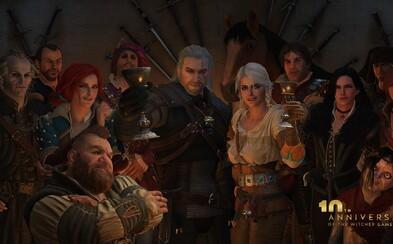Zaklínač oslavuje 10 rokov! CD Projekt Red pri tejto príležitosti ďakuje hráčom nostalgickým videom s milovaným Geraltom