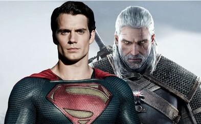 Zaklínače Geralta si v chystaném seriálu od Netflixu zahraje Superman Henry Cavill