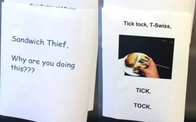 Zamestnancovi kradli v práci sendviče. Odkazová vojna sa začala!
