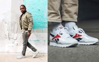 Zamiloval si ich aj Kendrick Lamar. Retro tenisky Reebok Rapide ťa katapultujú späť do 90. rokov