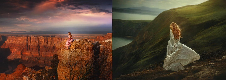 Zamilovaný fotograf a krásna priateľka spolu tvoria mystické fotografie. Precestovali kvôli nim napríklad Česko, Island či Škótsko