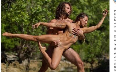 Zamilovaný pár mění 600 tisícům lidí pohled na lásku pomocí akro jógy
