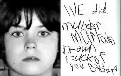 Zanechala posměšný dopis s přiznáním k vraždě. Policie ho nebrala vážně, 11letá dívka opět zabíjela
