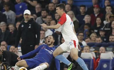 Zápas Slavie s Chelsea se proměnil v divokou přestřelku. Sešívání prohráli 3:4