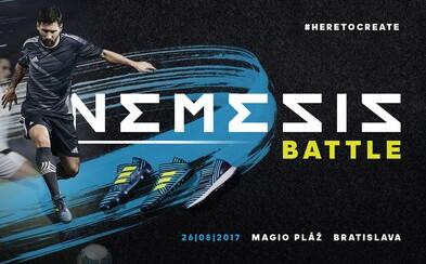 Zapoj sa do futbalového turnaja adidas Nemeziz Battle a vyhraj zájazd na zápas do Berlína