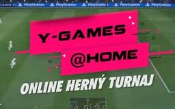 Zapoj sa do niektorého z turnajov a zabojuj o 2 600 eur! Slovenský Y-Games @Home sa bude hrať z domu