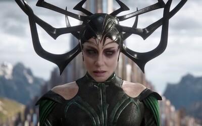Záporáčka Hela je mocnejšia než Loki a Thor dokopy. Ako sama herečka hovorí, nie je to žiadny Loki s vagínou