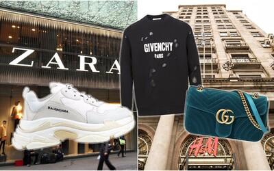 Zara, Bershka nebo Mango ve svých kolekcích opět vykrádají světové značky. Odnesly si to Gucci, Dior i Balenciaga