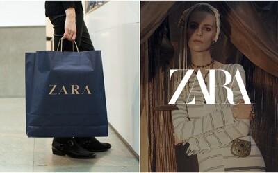 Zara nečakane mení svoje ikonické logo. Niektorí si z neho uťahujú, iní značku obviňujú z okopírovania