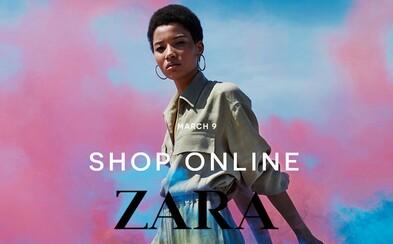 Zara otevírá brány internetového obchodu i pro Česko a Slovensko. Nakupovat budeš moci od 9. března