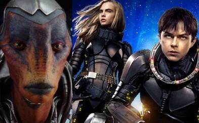 Zaradí sa epické sci-fi Valerian po bok Piateho elementu alebo režisér stavil len na vizuálne orgie? Americkí kritici v tom už majú jasno