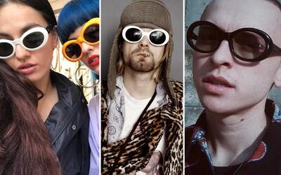 Zásluhy Kurta Cobaina v módě nemají obdoby. Nosily by se bez něj brýle připomínající mimozemšťana?