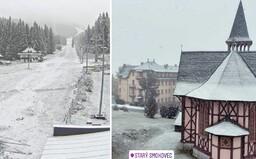 Zasnežené Slovensko: Dnes napadol v týchto regiónoch prvý sneh