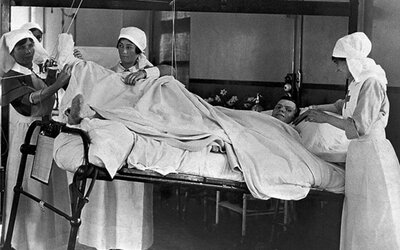 Zaujímalo ťa niekedy, ako to vyzeralo v nemocniciach počas prvej svetovej vojny?