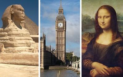 Zaujímavé fakty o svetoznámych pamiatkach, o ktorých drvivá väčšina ľudí ani len netuší. Čo sa skrýva na vrchu Eiffelovky či za Veľkou sfingou?
