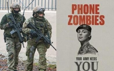 Závislák na selfies, tvoja armáda ťa potrebuje. Vtipná kampaň cieli na mileniálov, ktorí by sa chceli stať vojakmi