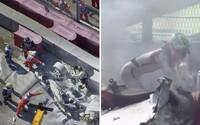 Závody Formule 2 opět poznamenala těžká nehoda, pilot mohl uhořet přímo v autě