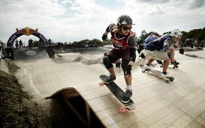 Závody na longboardu? Druhý ročník Red Bull Feel The Wheel se uskuteční už příští víkend