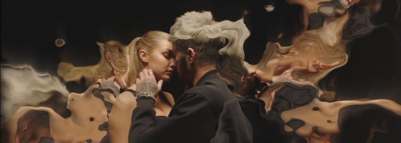 Zayn Malik a Gigi Hadid si vymieňajú nežné dotyky v debutovom videosingli bývalého člena One Direction