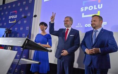 """ZÁZNAM: Koalice SPOLU porazila hnutí ANO a vyhrála volby. """"Praha nás porazila jako vždycky, Praha nás nesnáší,"""" uvedl Babiš"""