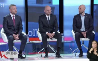Záznam: Posledná predvolebná debata politických lídrov pred moratóriom
