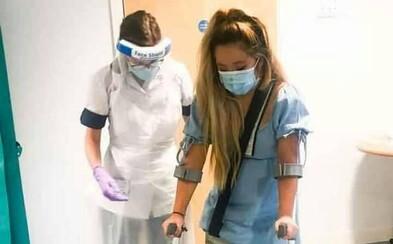 Zdravotná sestra počas pandémie ignorovala vlastné bolesti. Po pár týždňoch jej museli amputovať nohu