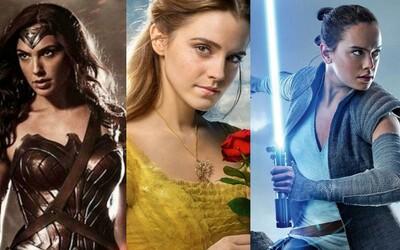 Že by silné ženské hrdinky stále diváky nelákaly? Jejich počet v blockbusterech klesá pořád více a více