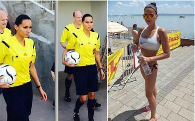 Že ženy nevedia nič o futbale? Táto očarujúca rozhodkyňa vás presvedčí o opaku